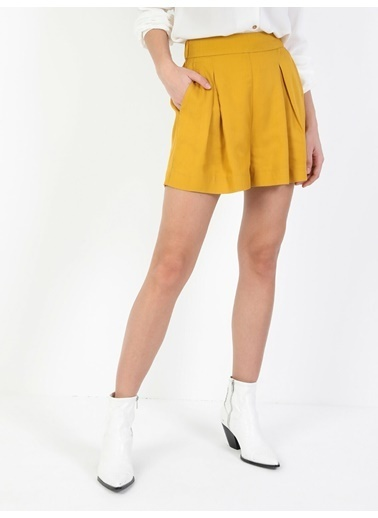 Colin's Sarı Kadın Şort Sarı